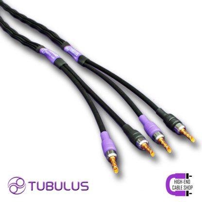 2 Tubulus Argentus luidsprekerkabel V2 spade banaan vork zilver lucht isolatie hoge kwaliteit speaker kabels beste High end Cable Shop Tubulus Argentus Speaker Cable V2