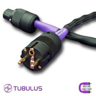 2 HCS power cable V3 tubulus argentus high end solid core copper schuko gold plated netkabel stroomkabel stekker hifi