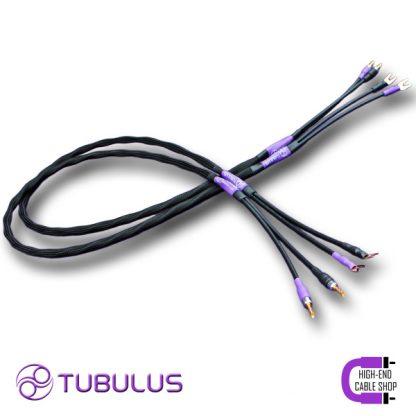 4 Tubulus Argentus luidsprekerkabel V2 spade banaan vork zilver lucht isolatie hoge kwaliteit speaker kabels beste High end Cable Shop Tubulus Argentus Speaker Cable V2