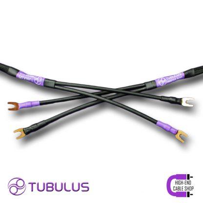 6 Tubulus Argentus luidsprekerkabel V2 spade banaan vork zilver lucht isolatie hoge kwaliteit speaker kabels beste High end Cable Shop Tubulus Argentus Speaker Cable V2