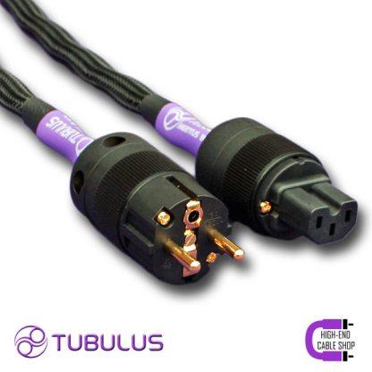 8 HCS power cable V3 tubulus argentus high end solid core copper schuko gold plated netkabel stroomkabel stekker hifi
