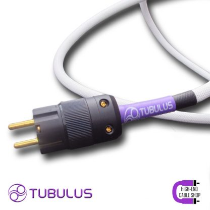 2 HCS power cable tubulus libentus high end solid core schuko gold plated netkabel stroomkabel stekker hifi