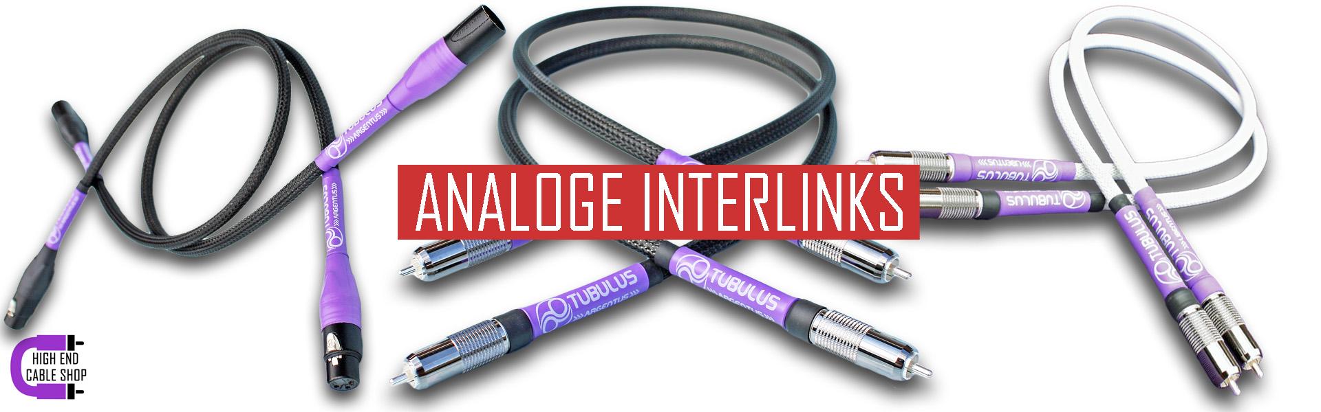 High end cable shop slide analoge interlinks