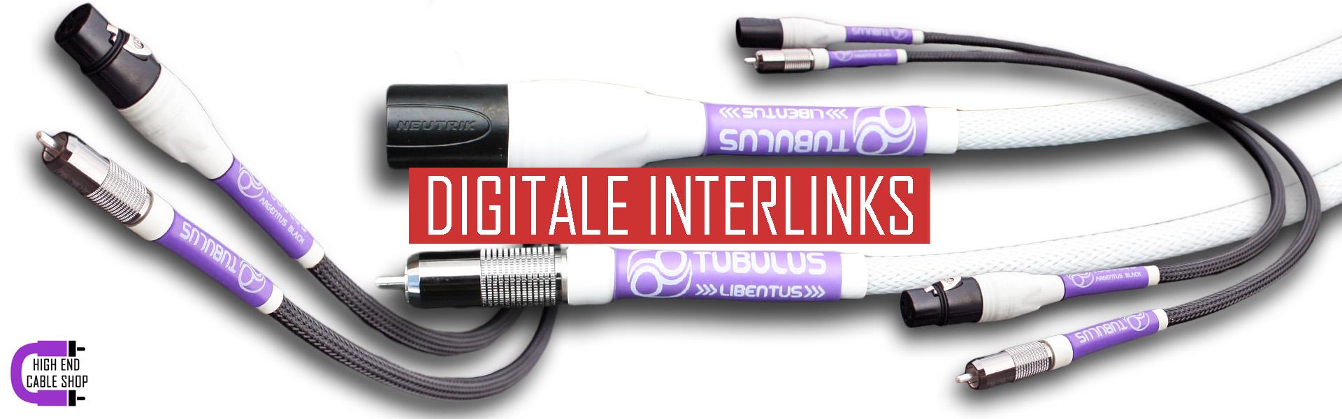 High end cable shop slide digitale interlinks