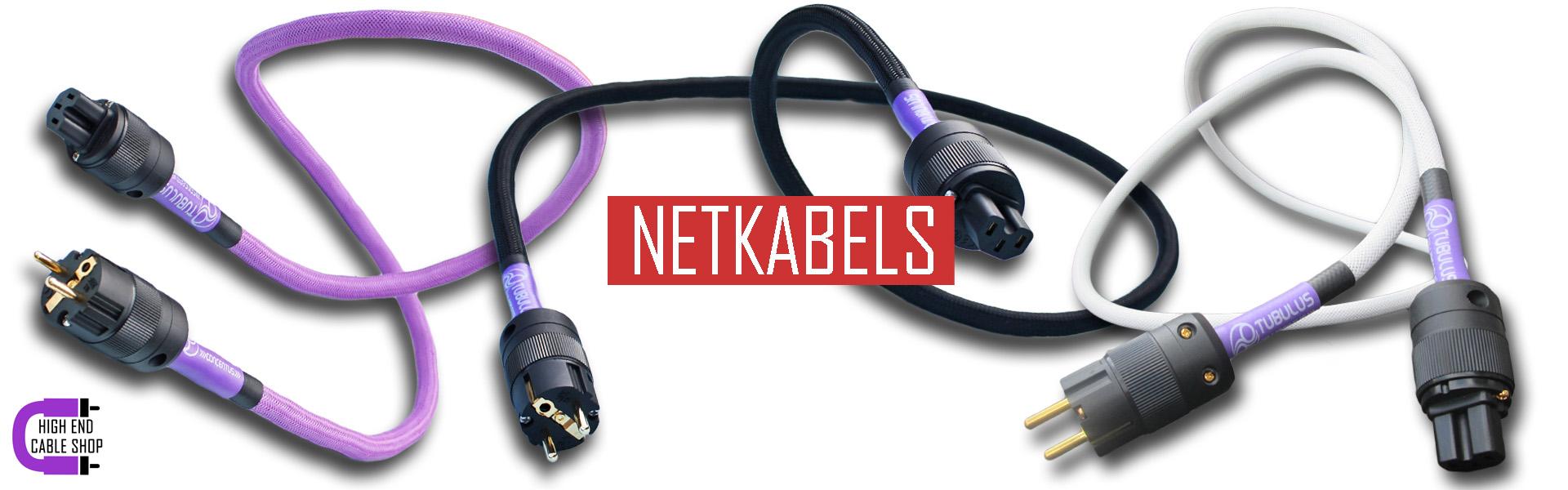 High end cable shop slide netkabels
